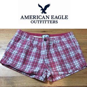 EUC American Eagle Plaid Shorts
